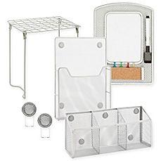 image of Honey-Can-Do® 6-Piece Back-to-School Locker Storage and Organizer Kit
