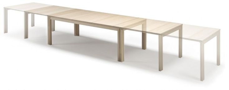The most flexible and stable dining table - From 6 to 20 people! | Skovby Møbler