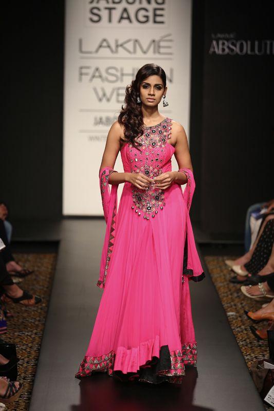 Anarkali by Arpita Mehta at Lakme Fashion Week 2014