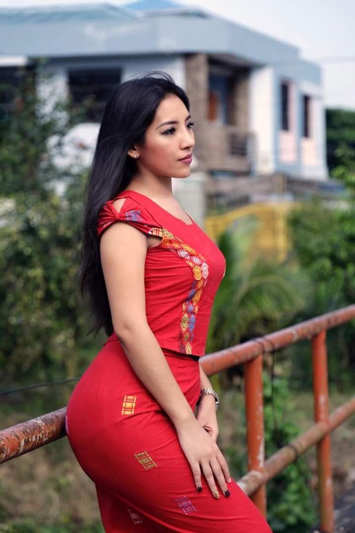 nang mwe san  Myanmar Girls in 2019  Asian beauty Asian