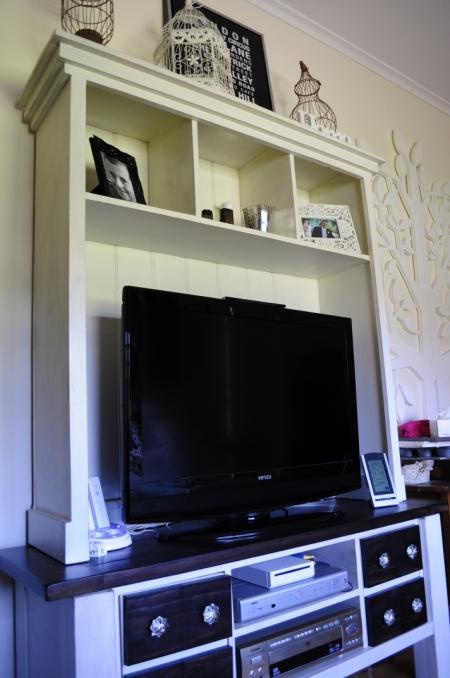 . Well, if you're going to get a bigger tv, why not have something awesome to put it on? With a few modifications..