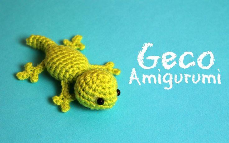 Geco Amigurumi | World of Amigurumi