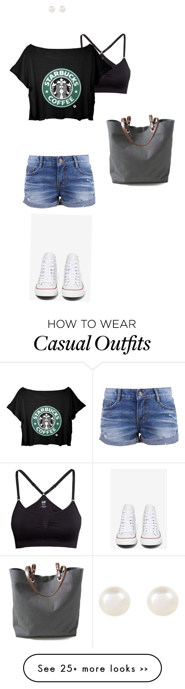 """Teenage casual"" by serenagaylord on Polyvore"