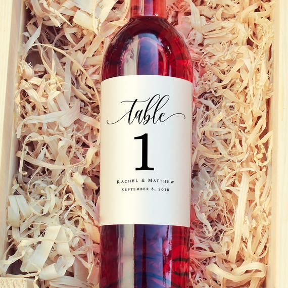 Wine Label Table Numbers Template Wine Table Number Label Wine Etsy Wine Label Printable Wine Label Template Wedding Wine Labels