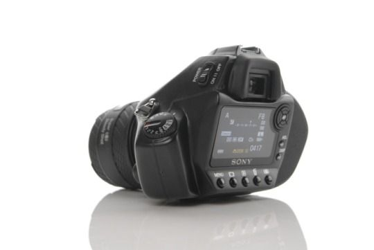 SONY a352 DSLR Camera Concept