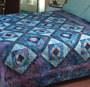 """FREE project: """"Stones and Skins"""" (from The Quilter Magazine)"""