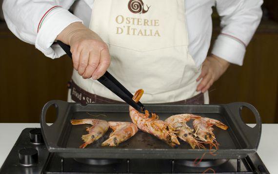 #Gamberi alla griglia o alla piastra #scuola #school #cooking #cucinare #italy
