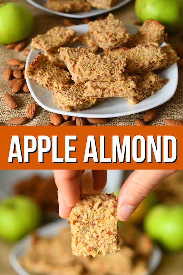 Apple And Almond Breakfast Bars Are The Ultimate Healthy Bar Recipe Breakfast Bars Healthy Breakfast Bars Recipe Vegan Snacks