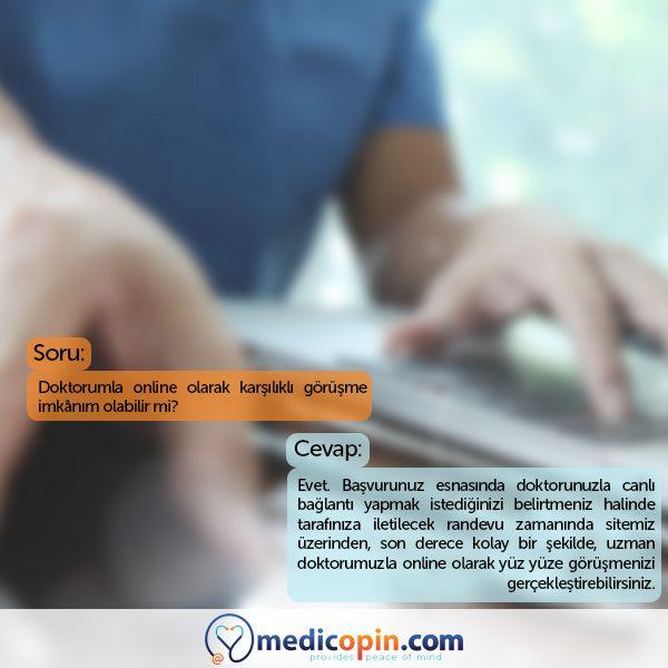 Medicopin.com'un uzman doktorlarıyla online olarak yüz yüze görüşme gerçekleştirebilirsiniz. #medicopincom #medicopin #medihis #digitalhealth #ikincigörüş #secondopinion #medikalarşiv #medicalarchive #doktor #doctor #görüşme