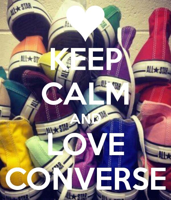 i love converse