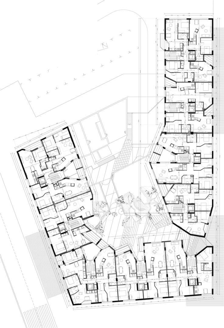 Flores & Prats, Edifici 111: Habitatges Socials a Terrassa, Barcelona 2011-2013