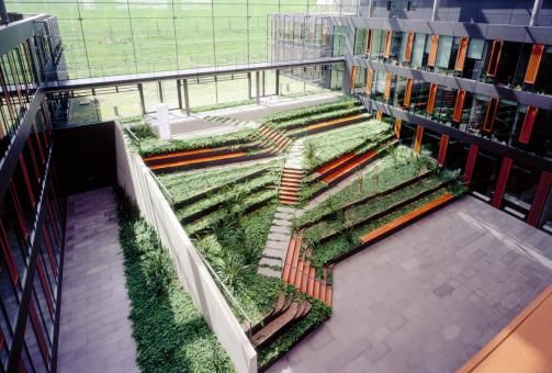 courtyard / Biological institues of Dresden University of technology