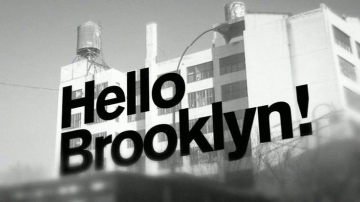 "Jay-Z - ""Hello Brooklyn""  A tribute to New York, Brooklyn and Jay-Z. Music video based on typography and still images of Brooklyn."