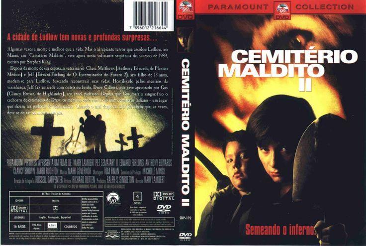 Cemiterio Maldito 2 Ou Pet Sematary Ii Dublado Br Pet Sematary Filmes De Terror Capas De Filmes