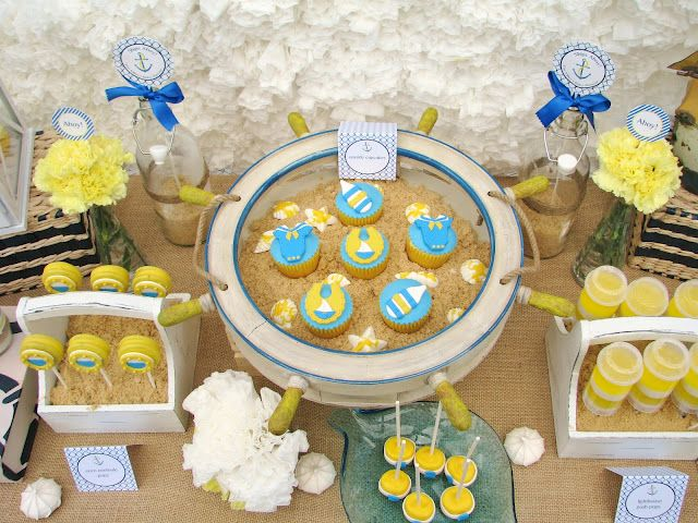 Beach Theme Baby Shower