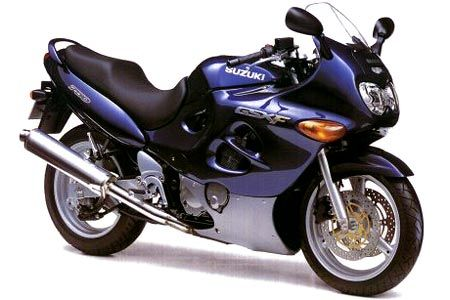 Suzuki GSXF 750