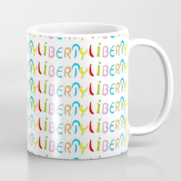 Liberty 1 Buy liberty 1-freedomfreegoodlicencejoyychoiceopenunrestrictedvacantfreedÂlarge Coffee Mug by oldking. Worldwide shipping available at Society6.com. Just one of millions of high quality products available.