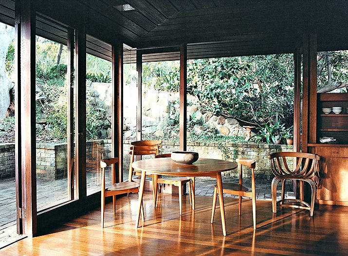 Connection between indoors and out   Architect Bruce Rickard