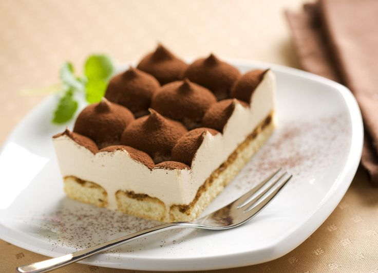 A piece of divine #tiramisu would certainly take you to heaven!