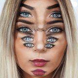 Este Trippy Globo Ocular Ilusión Óptica Tutorial De Maquillaje Hará Que Usted Se Sienta Mareado Por Días