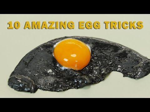 10 Egg Tricks - YouTube