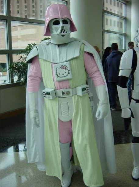 Hello Darth Kitty Vader