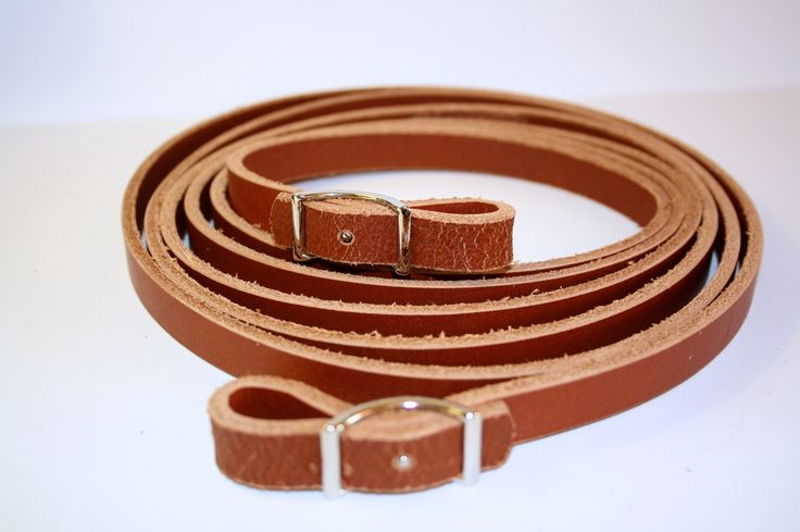 Rein with buckle, premium line. Available in cognac and black. http://www.artofriding.nl/en/Rein_with_buckle_premium
