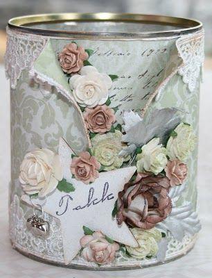 lata decorada