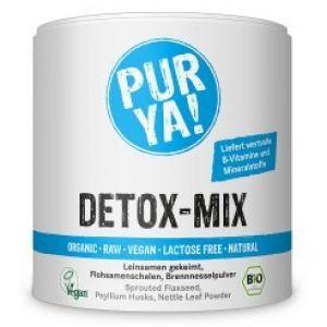 Detox mix Raw Bio ideala ca si sursa de proteine pentru sportivii care adopta un stil de viata vegan, sau raw vegan. Greenboutique.ro - Magazin online cu cosmetice bio, uleiuri esentiale.
