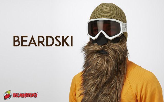 le site Beardski propose des masques anti-froid en forme de fausse barbe. Des barbes bien fournis pour un look proche de Chewbacca ou de ZZ Top sur les pistes de ski. Plusieurs formes et textures disponibles. 35 dollars environ.