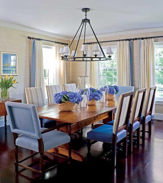 Best 25+ Blue Dining Rooms Ideas On Pinterest