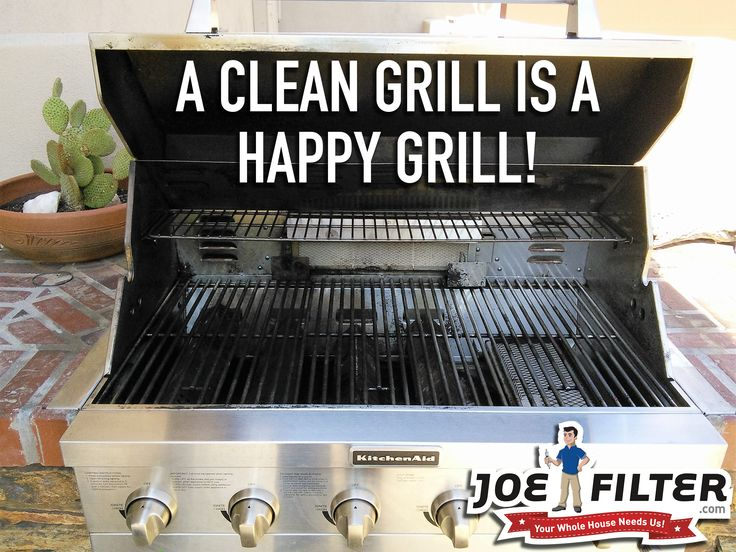 After you turn off the grill let it sit a bit and then scrape off grates to keep it clean and looking nice. #BBQTips