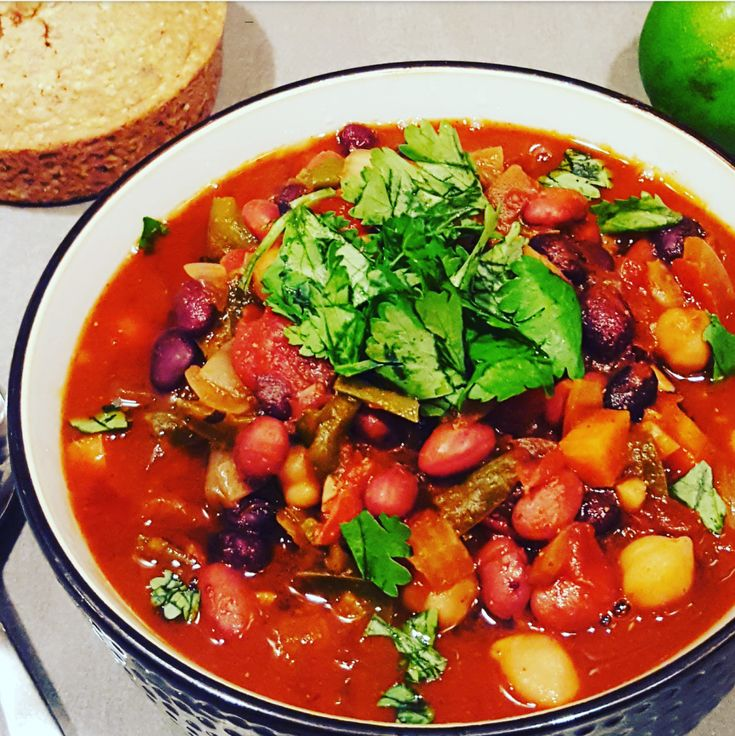 Dr. G's Favorite Fall Chili – Cooking With Dr. G What are you eating during the football game tomorrow?  How about some chili?  This is the perfect fall chili recipe that you can throw in the slow cooker while you rake leaves before the big game.  Enjoy!