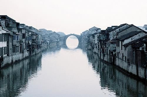 Early Morning of Suzhou Grand Canal