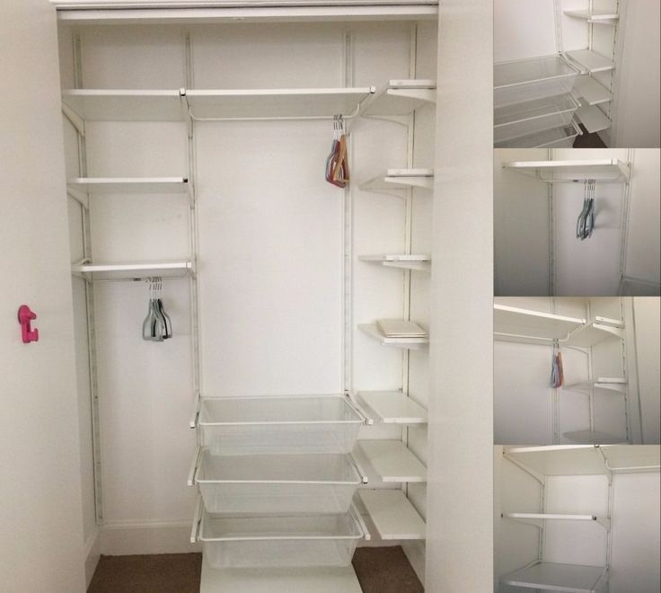 White Pantry Shelving System: 25+ Best Ideas About Ikea Algot On Pinterest