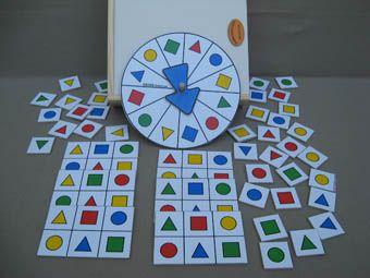 Bingo- shape match