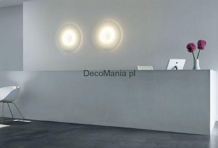 Lampa ścienna Foscarini - Ellepi - biała | DecoMania.pl