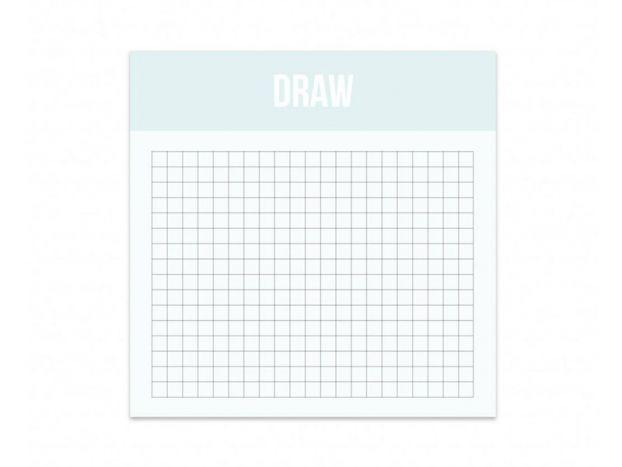 Mini Draw - Bloc de quadrillages