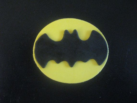 Batman Cupcake Toppers   Cake Decoration by PeaceLoveandCakeNY, $11.99