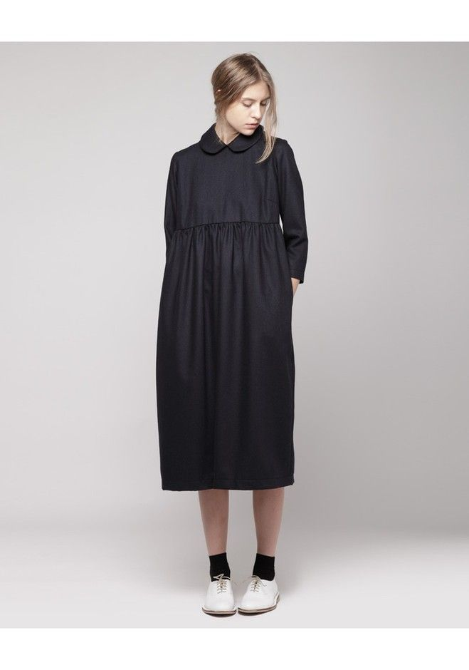 Comme des Garçons Shirt : Peter Pan Collar Dress