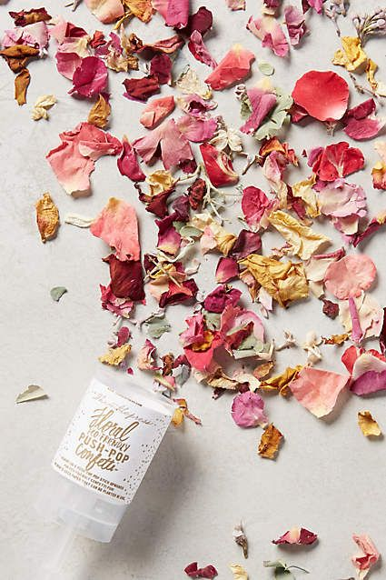 Petal Confetti Push-Pop - anthropologie.com