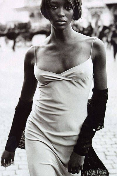 Naomi - Fashion Editorials from the 1990s - Bazaar Fashion Shoots 1990s - Harper's BAZAAR