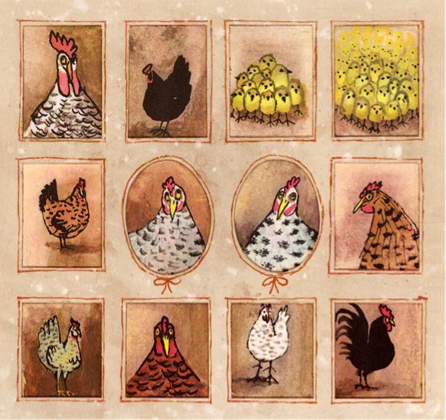 My Little Hen, illustrated by Alice and Martin Provensen