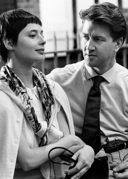Isabella Rossellini and David Lynch in Zelly and Me, 1988.