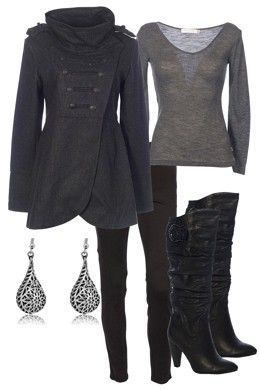 winterFall Clothing, Fashion, Style, Fall Winte, Black Outfit, Winter Outfit, Work Outfit, Boots, Coats