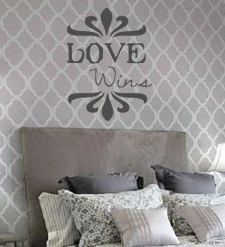 Love Wins Vinyl Wall Art Decal By Designstudiosigns On Etsy, $29.50