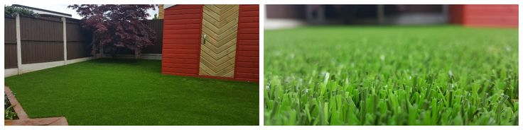 Nice installation! It can be tricky to cut artificial grass around trees