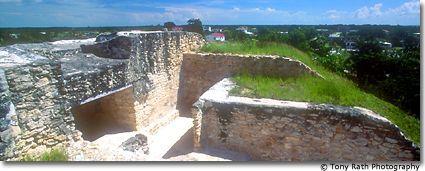 Santa Rita Corozal | santa rita mayan site on hill above corozal town the