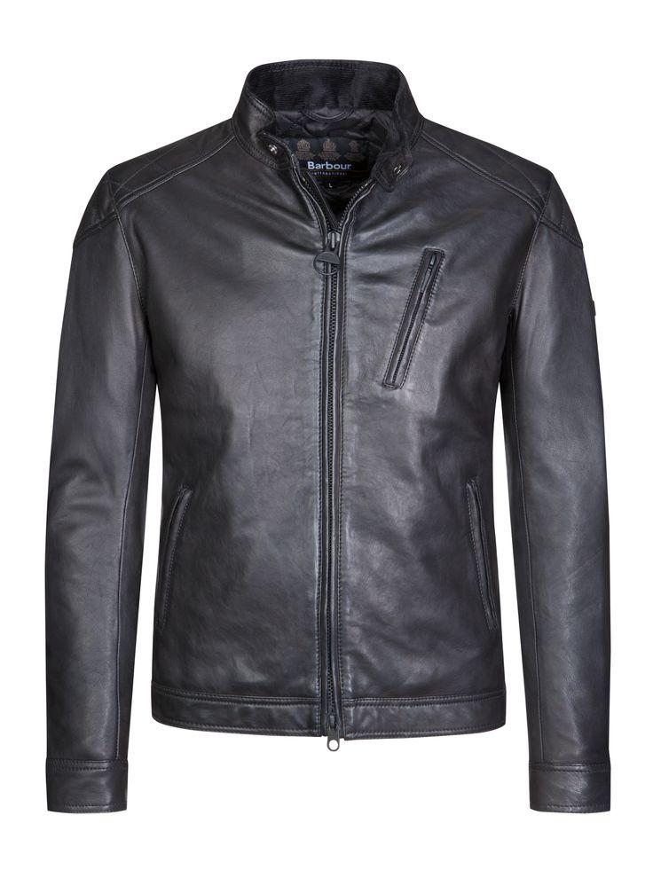 Barbour International Lederjacke, Marlon schwarz – Hirmer Herrenmode #SALE #Hirmer #München #MensFashion #MensStyle #Fashion #Style #Jacken