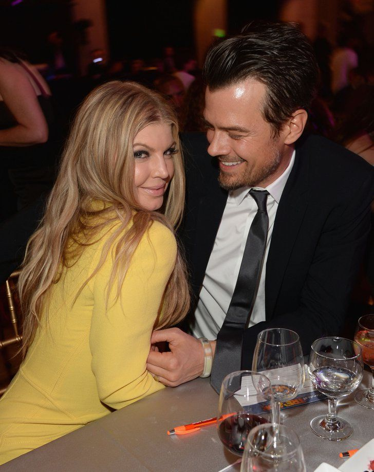 Pin for Later: These Celebrity Love Stories Are Right Out of a Fairy Tale Fergie and Josh Duhamel